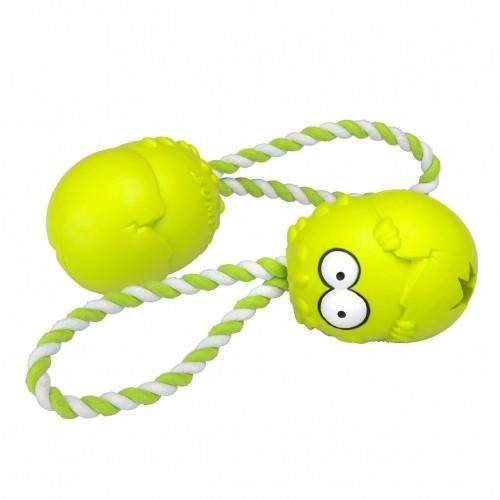Sélection Eté - Jouet Coockoo Bumpies avec corde pour chiens