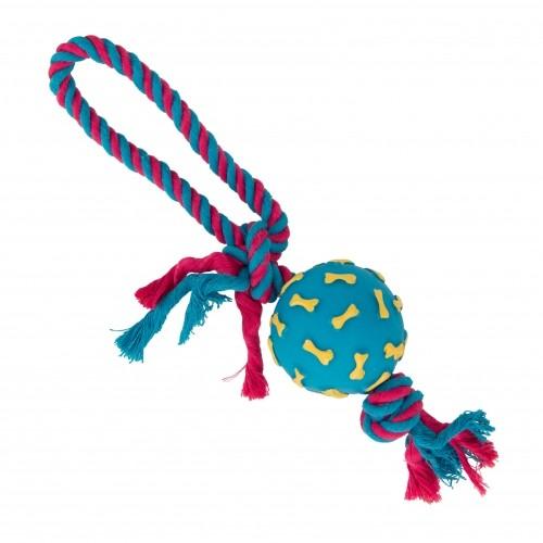 Jouet pour chien - Jouet corde et balle Os Muzo