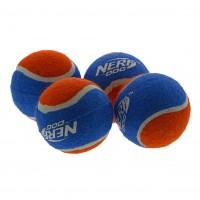 Balle pour chien - Lot de 4 balles de tennis Nerf