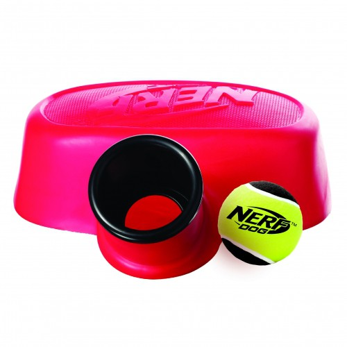 Propulseur de balle à pied - Lance balle pour chien - Nerf