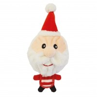 Peluche pour chien - Peluche Big Head Santa Happy Pet