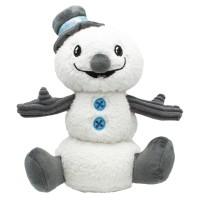 Peluche pour chien - Peluche Samy Snowman pour chien Happy Pet