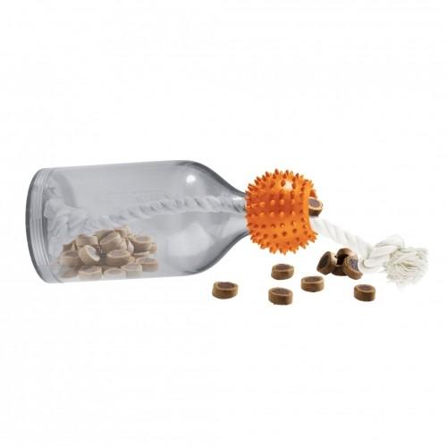 Objectif poids idéal - Distributeur friandises bouteille pour chiens