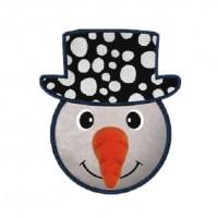 Jouet pour chien - Peluche Bonhomme de neige KONG