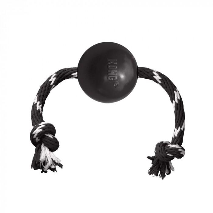 Jouet pour chien - Balle avec corde Extreme pour chiens