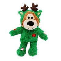 Peluche pour chien - Peluche Ours de Noël Wild Knots KONG Kong