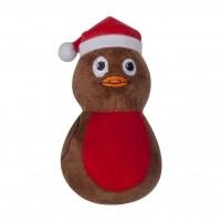 Peluche pour chien - Peluche Robin de Noël Pet Brands