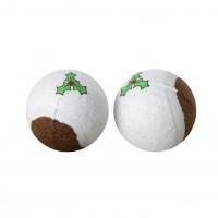 Jouet pour chien - Lot de 2 Balles de tennis Noël  Pet Brands
