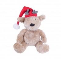 Peluche pour chien - Peluche Ourson de Noël Rosewood