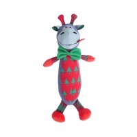 Peluche pour chien - Peluche de Noël - Dougie l'âne Rosewood