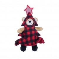 Peluche pour chien - Peluche Ourson déguisé en sapin  Rosewood