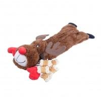 Jouet distributeur pour chien - Peluche de Noël à friandises Rosewood