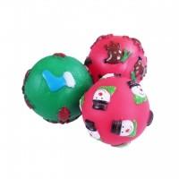 Balle pour chien - Balle de Noël en vinyle Rosewood