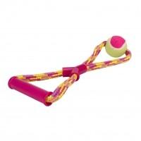Jouet pour chien - Corde Rainbow Crinkler Spot