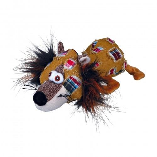 Jouet pour chien - Peluche Renard Patchwork  pour chiens