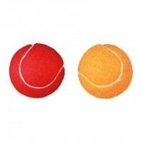 Jouet pour chien - Set de 2 balles de tennis