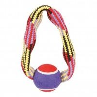 Corde pour chien - Jouet Tennis Zolux