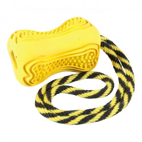 Jouet pour chien - Jouet à mâcher Titan avec corde pour chiens