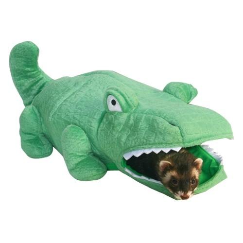 Jouet pour furet - Tente Hide N Sleep Alligator pour furets