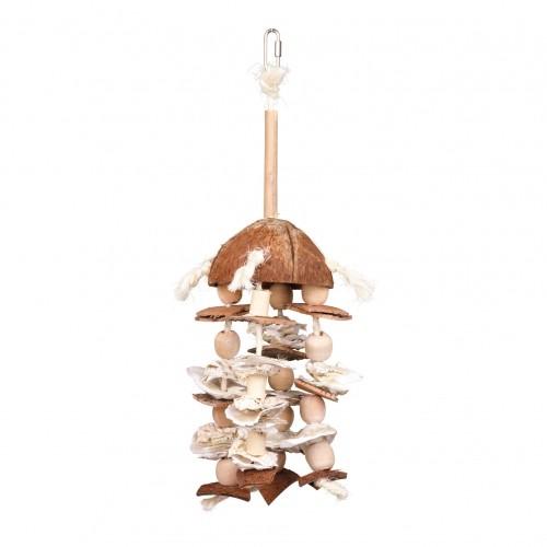 Jouet pour oiseau - Jouet naturel en corde de sisal pour oiseaux