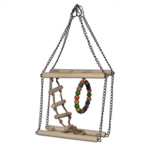 Jouet pour oiseau - Jouet Climbing Fun pour oiseaux