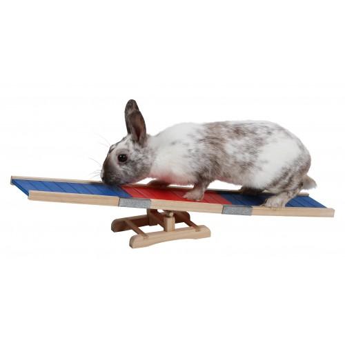 Jouet pour rongeur - Rampe pour lapin Agility pour rongeurs