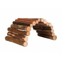 Jouet pour rongeur - Ponts en bois naturel