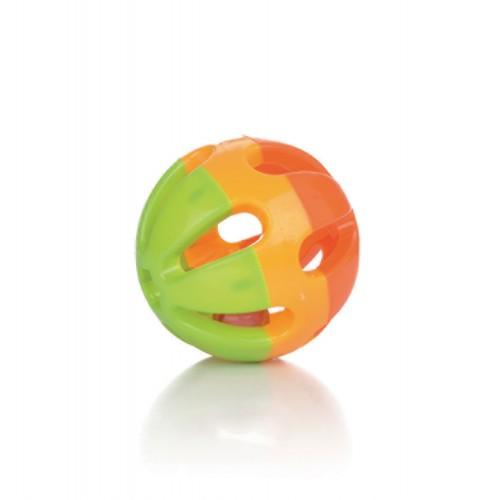 Jouet pour rongeur - Balle plastique à grelot pour rongeurs