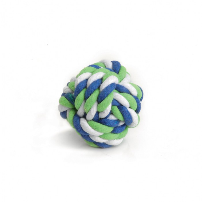 Jouet pour rongeur - Balle en corde pour rongeurs