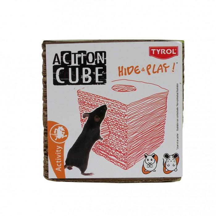 Jouet pour rongeur - Aire de jeu cube pour rongeurs