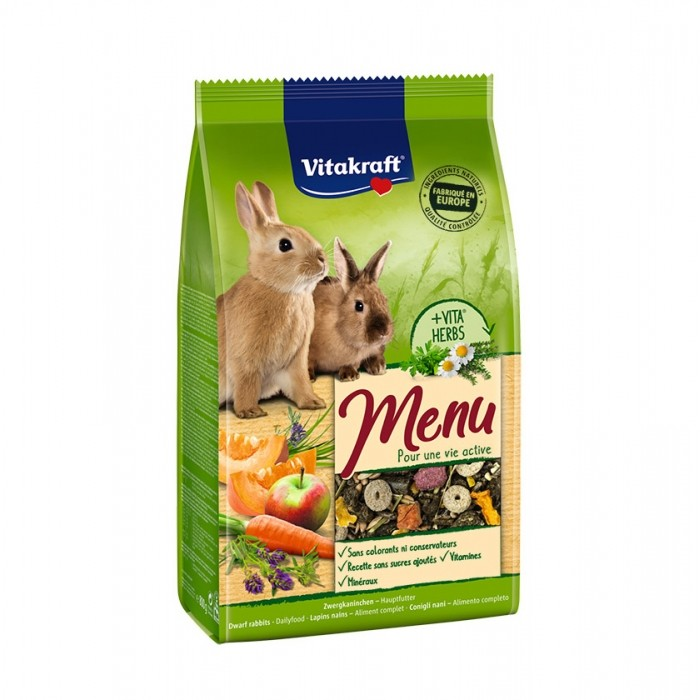 Aliment pour rongeur - Menu Premium Lapin pour rongeurs