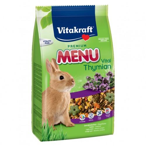 Aliment pour rongeur - Menu au thym Lapin pour rongeurs