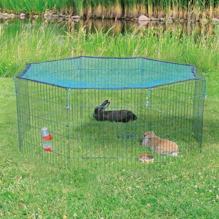 Cage, clapier et enclos rongeur - Enclos avec filet pour rongeurs