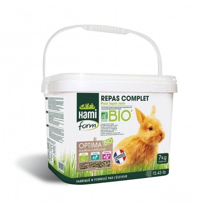 Aliment pour rongeur - Optima BIO lapin nain pour rongeurs