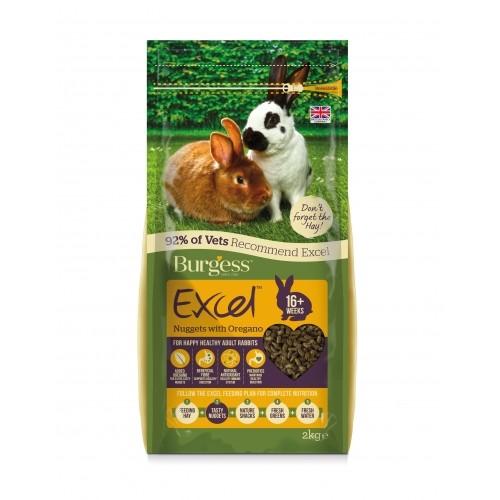 Aliment pour rongeur - Granulés Excel Adulte à l'origan pour rongeurs