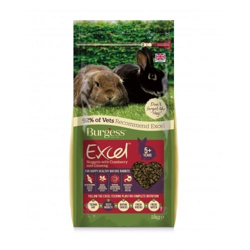 Aliment pour rongeur - Granulés Excel Senior à la canneberge et au ginseng pour rongeurs