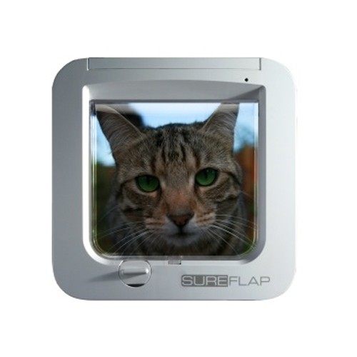 Chati re lectronique basic chati re automatique pour - Chatiere pour chat ...