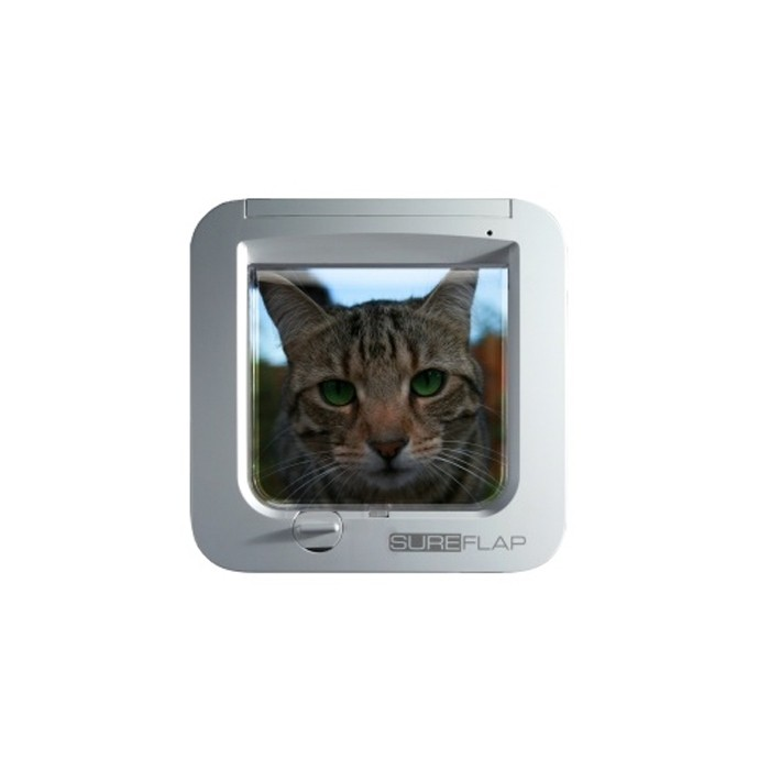 Amazing Affordable Zoom Chatire Sureflap Blanche With Achat Chatiere
