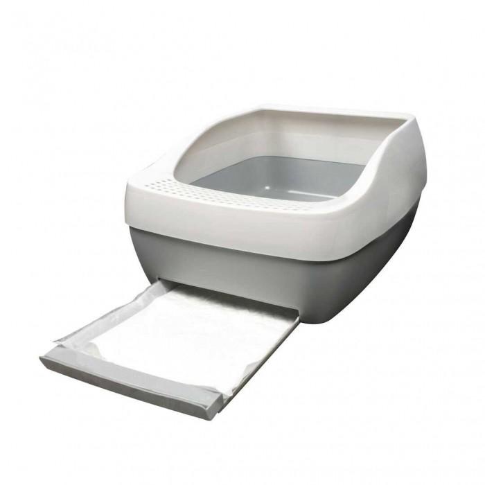 Litière chat, maison de toilette - Bac à litière Crystal Deluxe pour chats