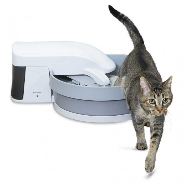 Litière chat, maison de toilette - Bac à litière auto-nettoyant Simply Clean pour chats
