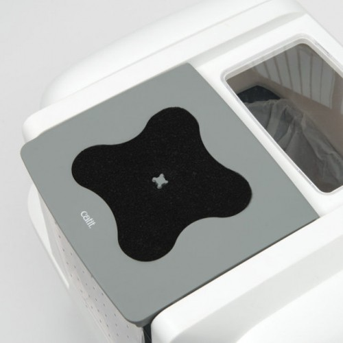 Litière chat, maison de toilette - Maison de toilette SmartSift pour chats