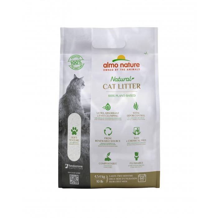 Litière chat, maison de toilette - Litière Cat Litter Almo Nature pour chats