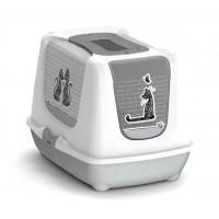 Maison de toilette - Maison de toilette Cats in Love Moderna
