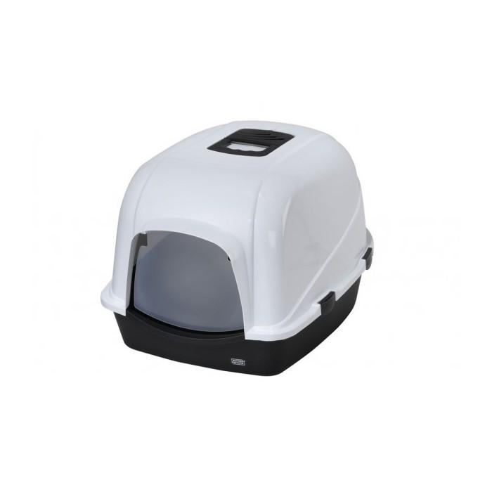 Litière chat, maison de toilette - Maison de toilette Jumbo grand modèle pour chats