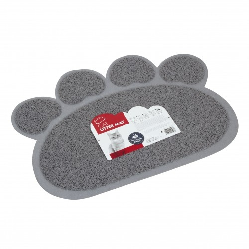 Litière chat, maison de toilette - Tapis Paw pour bac à litière pour chats