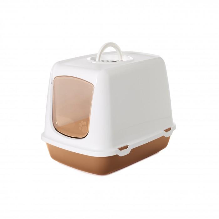 Litière chat, maison de toilette - Maison de toilette Oscar pour chats