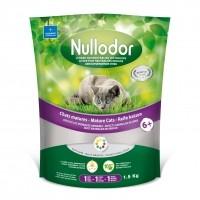 Litière silice pour chat sénior - Litière Nullodor chats matures 6+