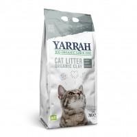 Litière minérale pour chat - Litière biologique à l'argile Yarrah