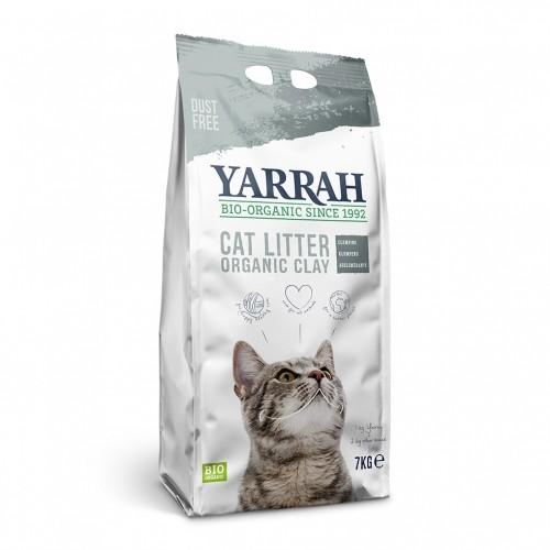 Litière chat, maison de toilette - Litière biologique à l'argile pour chats