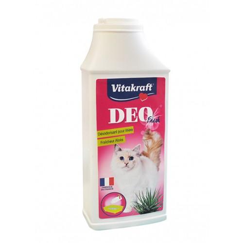 Litière & compagnie - Désodorisant Fresh en poudre pour chats